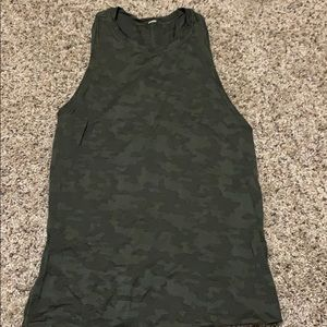 Lululemon All Tied Up Tank in Camo RARE